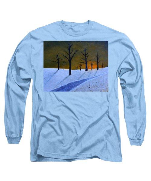 Stark Winter Sunset Long Sleeve T-Shirt