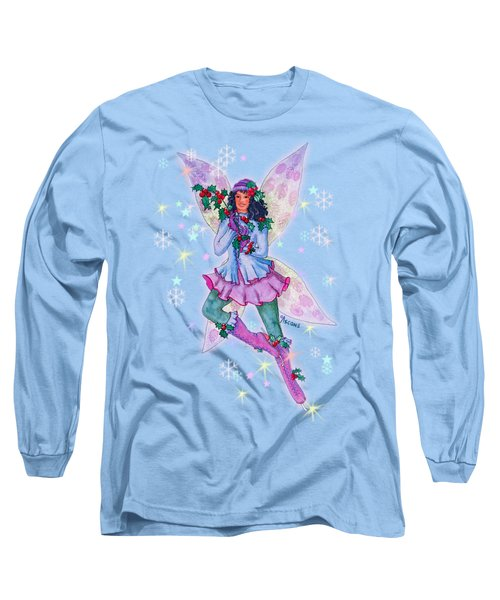 Starr Lynn Holliday Fairy Long Sleeve T-Shirt