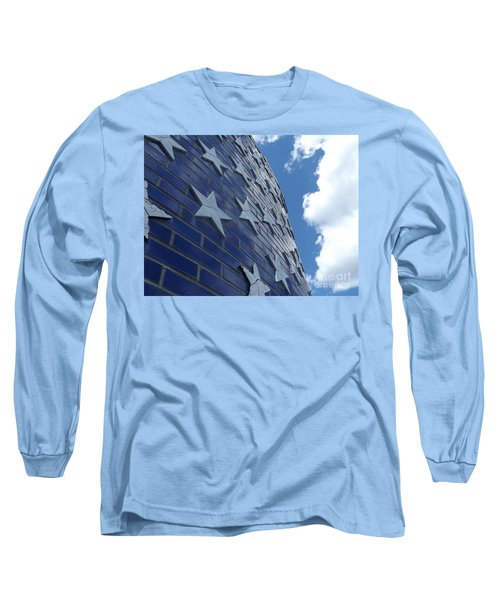 Stars And Stripes Long Sleeve T-Shirt by Erick Schmidt
