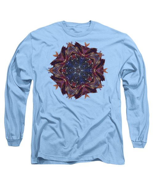 Start Of Paisley Patterns Long Sleeve T-Shirt
