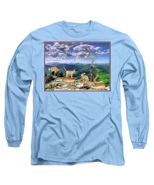 Statues Of The Rock Long Sleeve T-Shirt