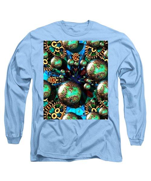 Steampunk Fractal 71216.4 Long Sleeve T-Shirt