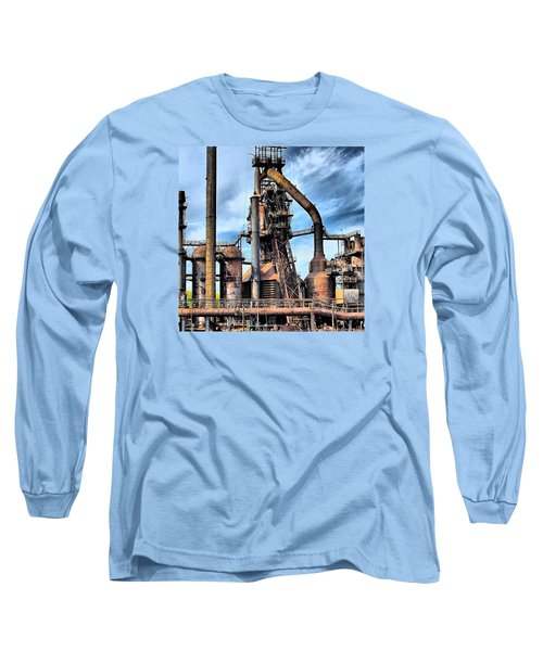 Steel Stacks Bethlehem Pa. Long Sleeve T-Shirt
