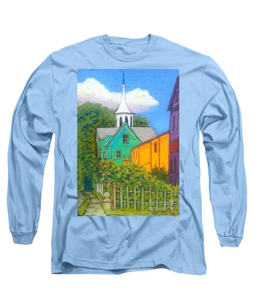 St.george Street  Long Sleeve T-Shirt by Rae  Smith