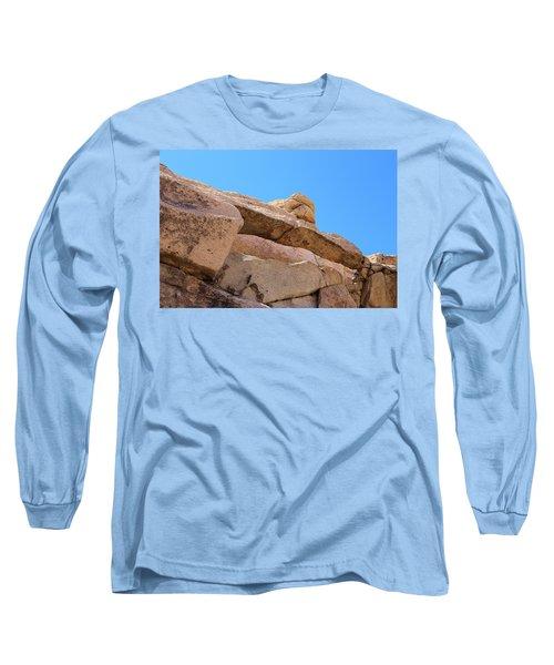 Stone  Arch In Joshua Tree Long Sleeve T-Shirt