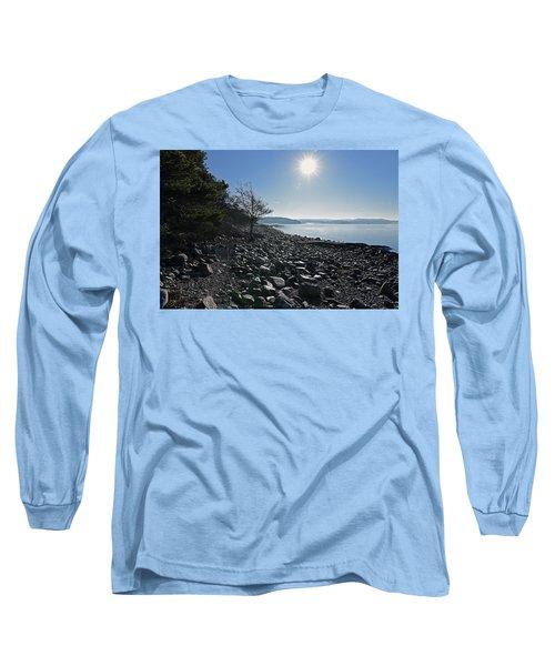 Stone Beach Long Sleeve T-Shirt