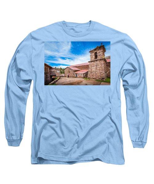 Stone Buildings Long Sleeve T-Shirt