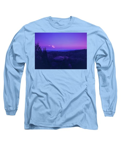Stone Cloud Sky Cloud Long Sleeve T-Shirt