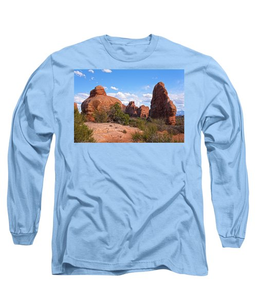 Stone Gods 0f Arches Long Sleeve T-Shirt by Angelo Marcialis