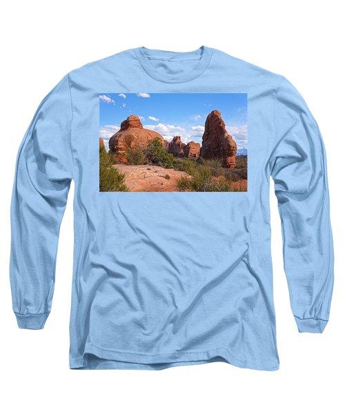 Stone Gods 0f Arches Long Sleeve T-Shirt
