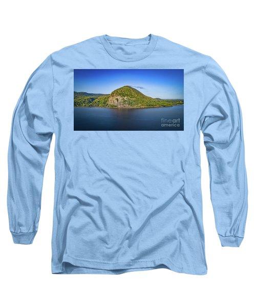 Storm King Mountain From Breakneck Ridge Long Sleeve T-Shirt