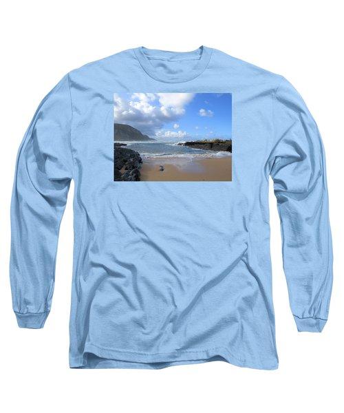 Storm River Beach Long Sleeve T-Shirt
