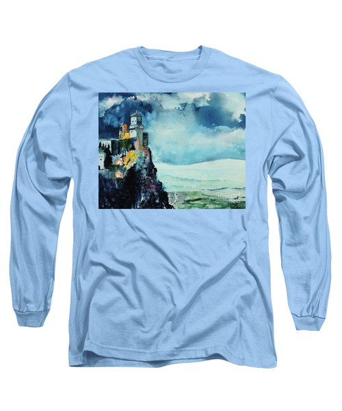 Storm The Castle Long Sleeve T-Shirt by Tom Riggs