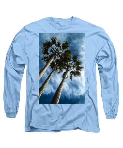 Stormy Palms 1 Long Sleeve T-Shirt