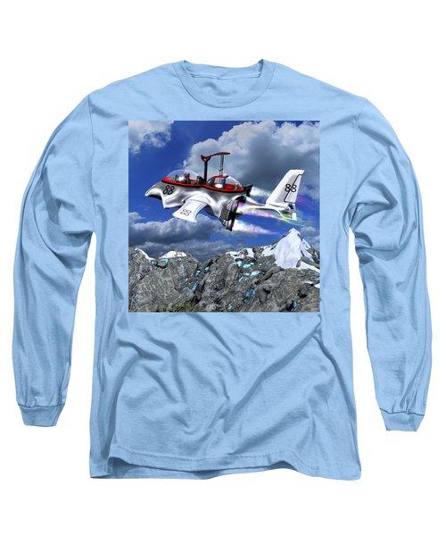 Stowing The Lift Long Sleeve T-Shirt by Dave Luebbert