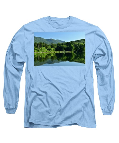 Streak Of Light At The Lake Long Sleeve T-Shirt