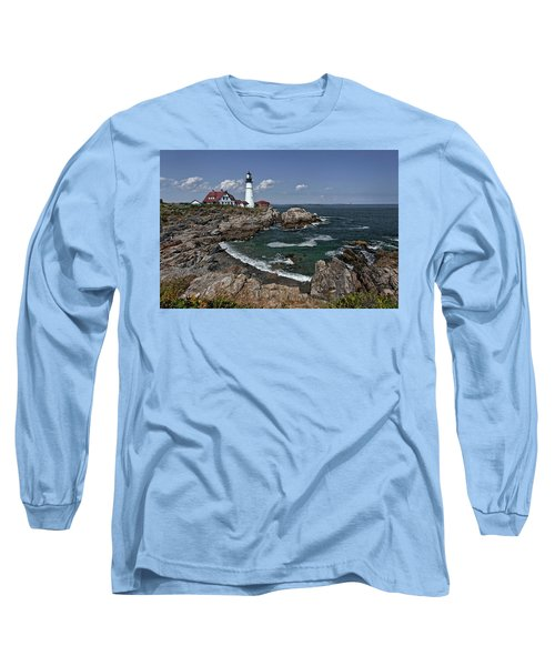 Summer Afternoon, Portland Headlight Long Sleeve T-Shirt