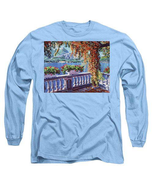 Summer At Lake Como Long Sleeve T-Shirt