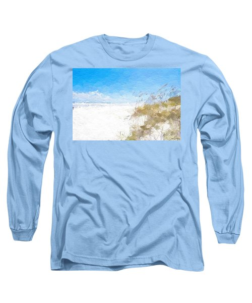 Summer Beach Dunes Long Sleeve T-Shirt