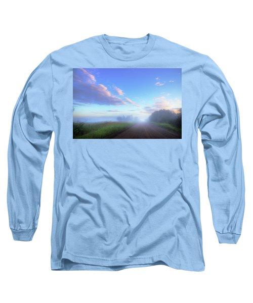 Summer Morning In Alberta Long Sleeve T-Shirt by Dan Jurak