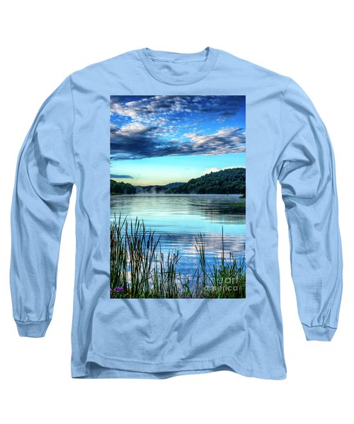 Summer Morning On The Lake Long Sleeve T-Shirt by Thomas R Fletcher