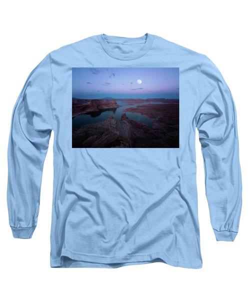 Summer Night Long Sleeve T-Shirt
