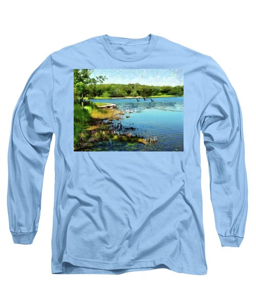 Summer On The Lake Long Sleeve T-Shirt