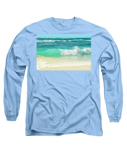 Long Sleeve T-Shirt featuring the photograph Summer Sea by Sharon Mau