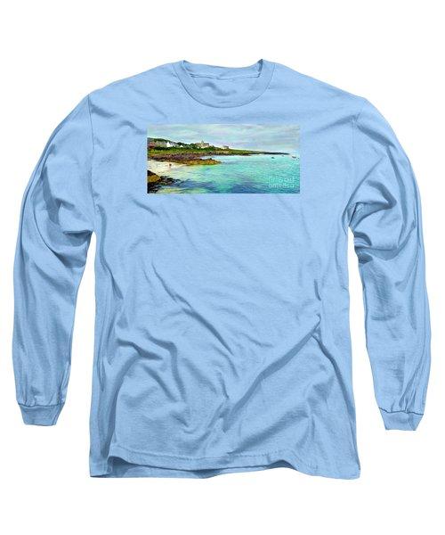 Summertime, Isle Of Iona Long Sleeve T-Shirt by Judi Bagwell