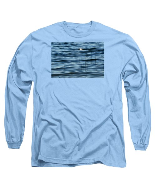 Long Sleeve T-Shirt featuring the photograph Sun Glints 2  by Lyle Crump