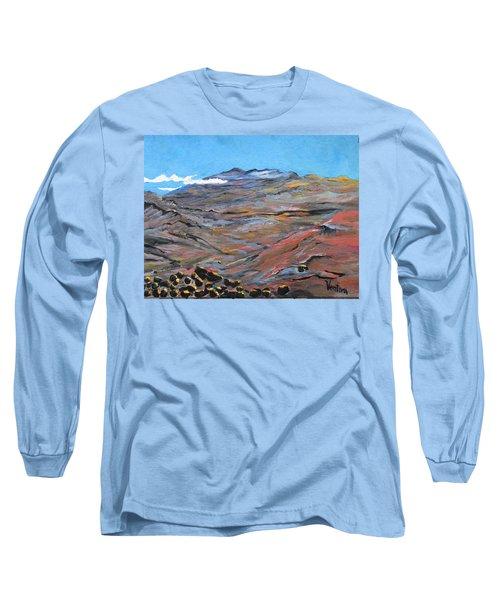 Sun Salutation At Haleakala Long Sleeve T-Shirt