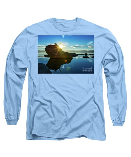 Sun Star Mirror Long Sleeve T-Shirt