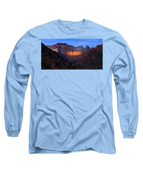 Sunbeam, Towers Of The Virgin, Zion Long Sleeve T-Shirt