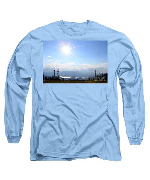 Sunburst Over Lake Dillon Long Sleeve T-Shirt