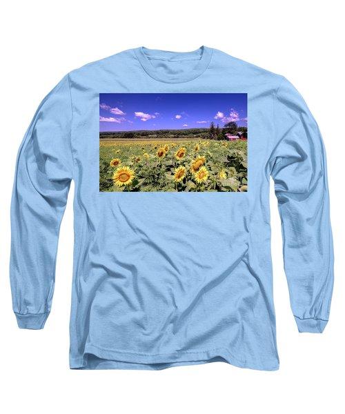 Sunflower Farm Long Sleeve T-Shirt