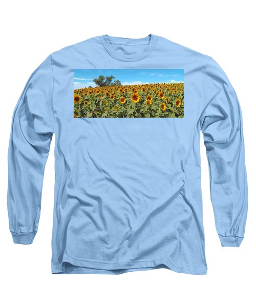 Sunflower Field One Long Sleeve T-Shirt
