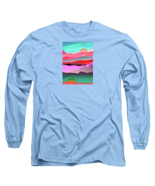 Sunland 3 Long Sleeve T-Shirt by Mary Armstrong