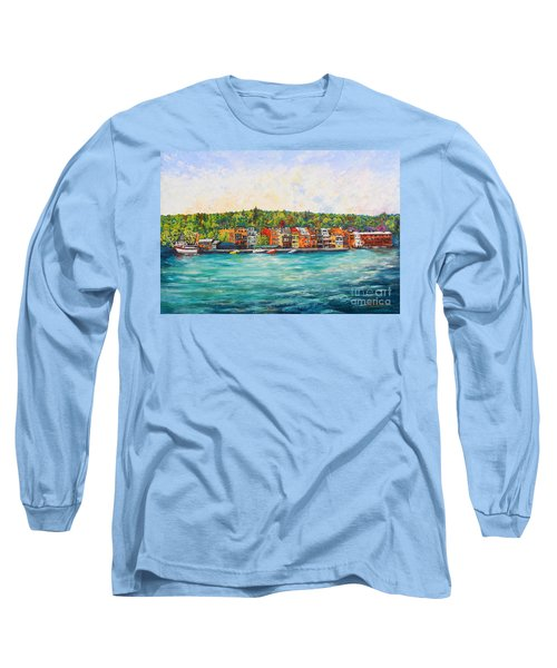 Summer In Skaneateles Ny Long Sleeve T-Shirt