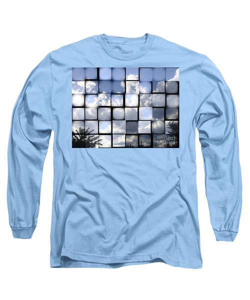 Sunny Sky Long Sleeve T-Shirt by Christina Verdgeline