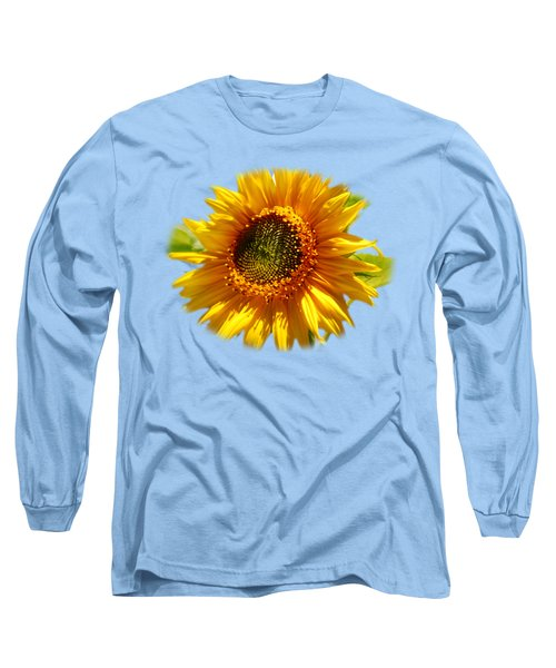 Long Sleeve T-Shirt featuring the photograph Sunny Sunflower by Christina Rollo
