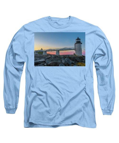Sunrise At Marshall Point Long Sleeve T-Shirt