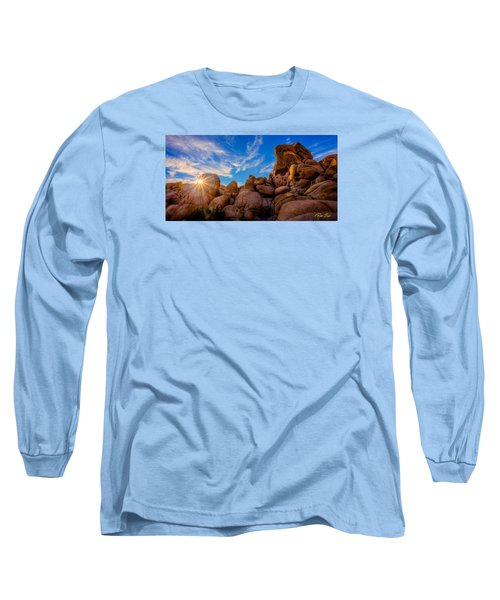 Long Sleeve T-Shirt featuring the photograph Sunrise At Skull Rock by Rikk Flohr