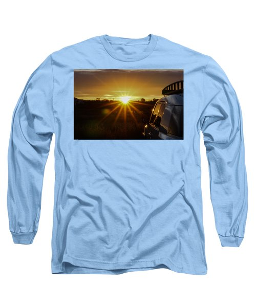 Sunrise And My Ride Long Sleeve T-Shirt