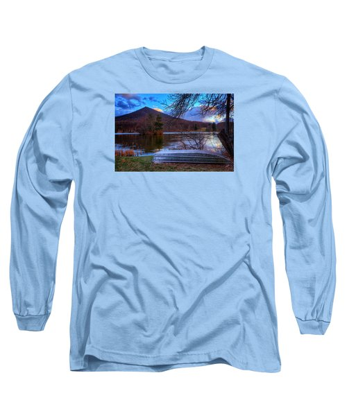 Sunset At Abbott Lake Long Sleeve T-Shirt