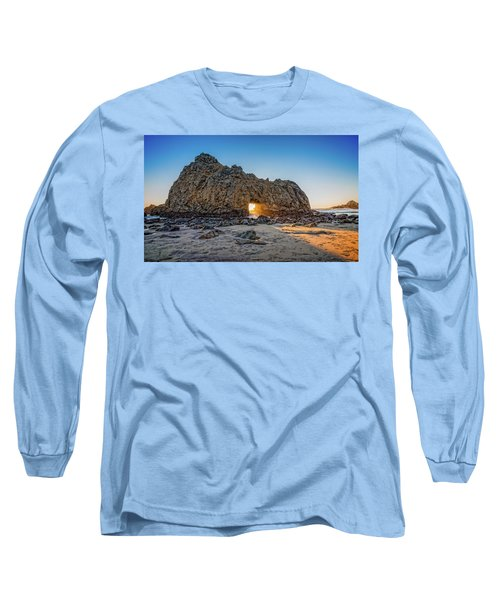 Sunset At Hole In The Rock Long Sleeve T-Shirt by James Hammond