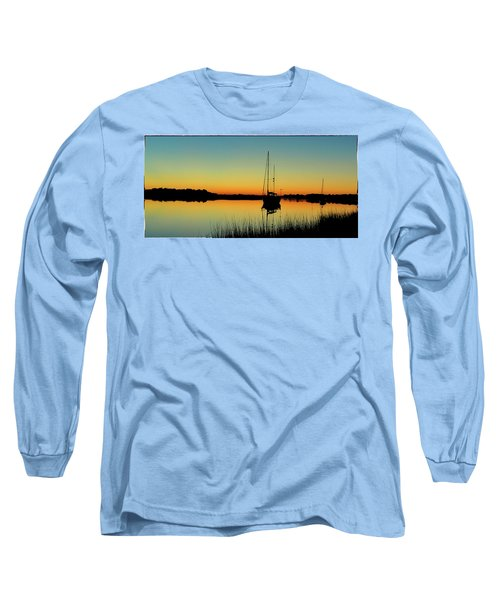 Sunset Bowens Island Long Sleeve T-Shirt