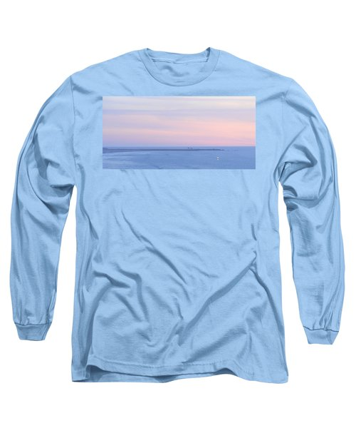 Sunset From Irish Beach Long Sleeve T-Shirt
