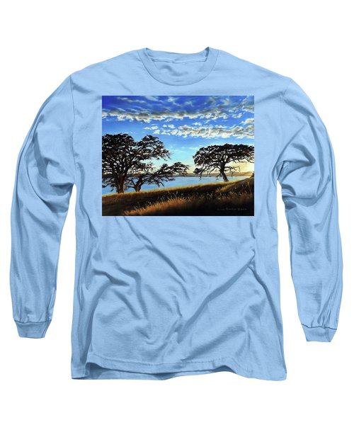Sunset In Lucerne Long Sleeve T-Shirt