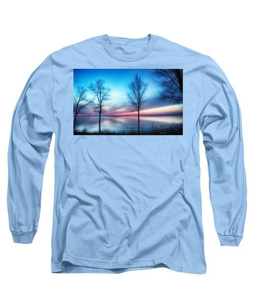 Sunset On The Diagonal Long Sleeve T-Shirt