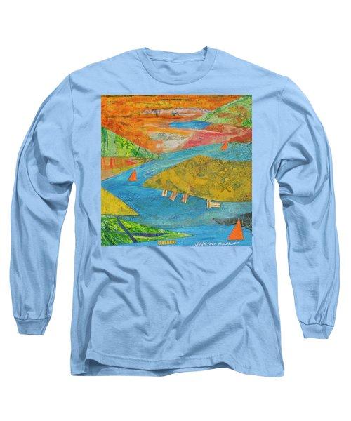 Sunset Sails 1 Long Sleeve T-Shirt